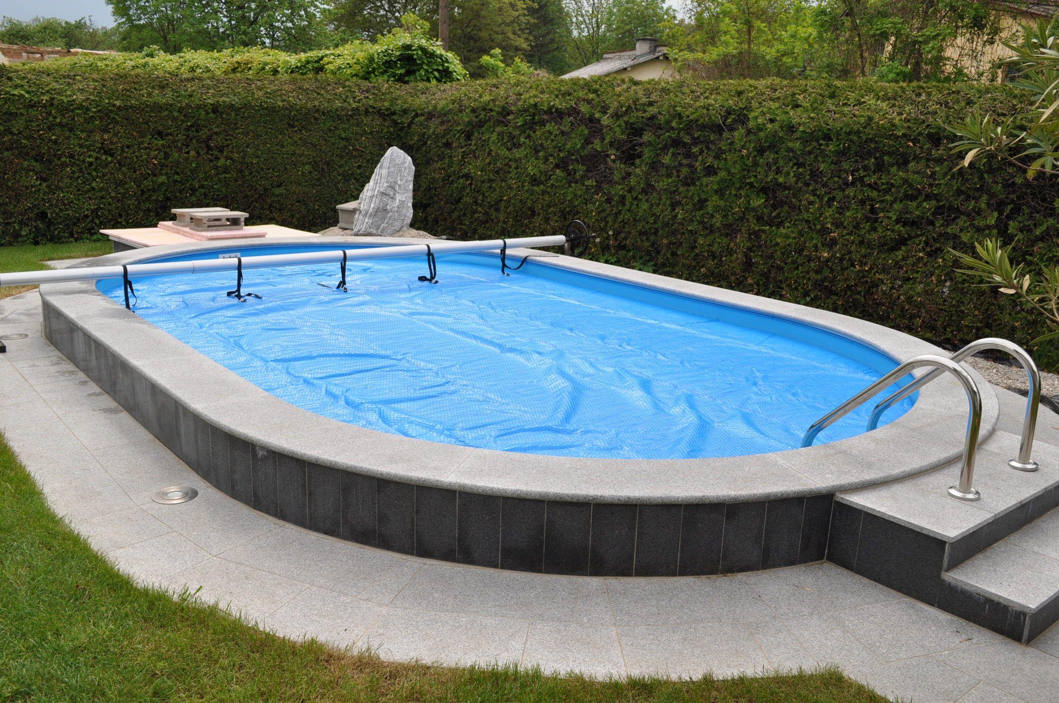 Sortiment solarnoppenfolie for Pool aufstellbecken oval